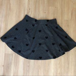 H&M Heart Skirt